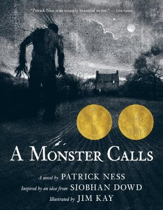 A Monster Calls by Patrick Ness, Siobhan Dowd, Jim Kay