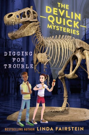 Review:  Digging for Trouble by Linda Fairstein