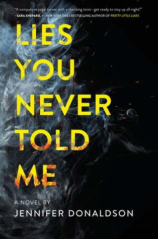Review: Lies You Never Told Me by Jennifer Donaldson